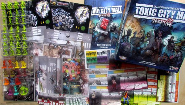 Zombicide: Toxic City Mall - packaging