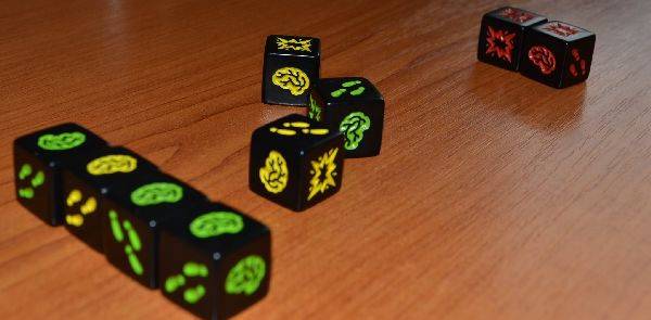 Zombie Dice - game is ready